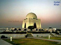 Superb Photography Of Golden Lights On Quid E Azam Muhammad Ali Jinnah Tomb Karachi Sindh