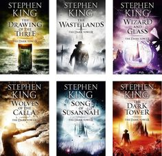The Dark Tower series (6 of the 7)