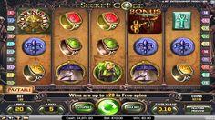 Secret Code™ es un juego de máquina tragamonedas de 5 tambores y 20 líneas creadas por NetEnt. Jugar gratis en TragamonedasX.com: http://tragamonedasx.com/juegos-gratis/secret-code/