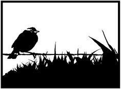 Akit Digital Design: Free papercutting template! - Bird