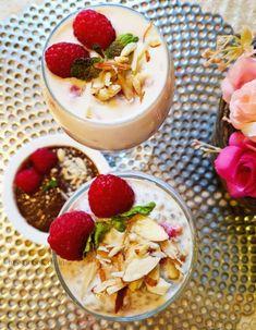 Very Berry Chia Pudding | Very Berry Pudding Other Recipes, My Recipes, Cooking Recipes, Chia Recipe, Chocolate Chia Pudding, Custard Powder, Berry, Yummy Food, Snacks