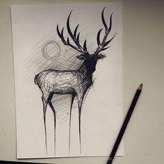 #deer #deertattoodesign #deertattoo #deertattoos #blackwork #project #animaltattoo #animal #animallovers #handsomeanimal #mskudu #kulttattoofest #cracow #tattoo #ink #inked #lines #linework #minimalism #creepy #jelen #tatuaz #jelentatuaz #rogate #projekt Ms Kudu Tattoo