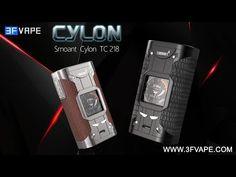 Authentic Smoant Cylon 218W Black TC VW Variable Wattage Box Mod