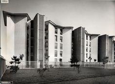 Quartiere Mangiagalli a Milano, 1950 - 1952: Ignazio Gardella e Franco Albini- Immagine dell'Archivio Storico Gardella ©, Milano