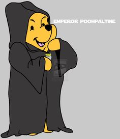 STAR WARS Inspired Winnie the Pooh Characters