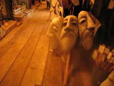 There is no place in the world like this puppet museum in VT.  Filled with 50 years of giant puppets in an old barn, these creations are a sight to see!