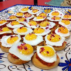 Delicious tapas made with Quely Biscuits from Mallorca