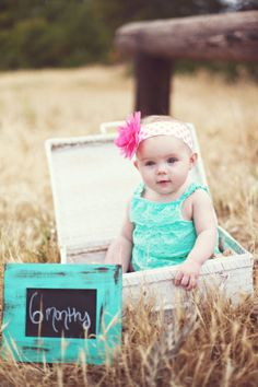 Baby Infant Photo Prop Shabby Chic Rustic Basket by braggingbags, $59.99