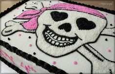 Skull cake- no directions