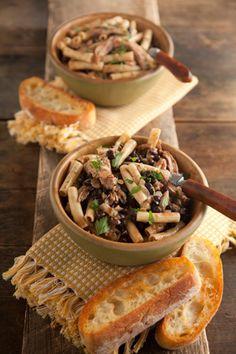 Turkey and Black Bean Ziti at PaulaDeen.com