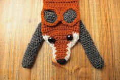 fox scarf by Beeskneesknitting