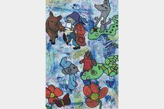 Slangeræs | Artmoney Love Art, Original Art, Card Stock, Art