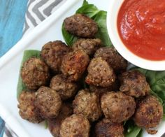 Italian Meatballs - Paleo - You can fool anyone with these!