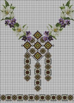 (1) Gallery.ru / Фото #37 - Без названия - klavdsa Cross Stitch Art, Cross Stitch Borders, Crochet Borders, Cross Stitch Designs, Cross Stitch Embroidery, Hand Embroidery, Cross Stitch Patterns, Embroidery Designs, Knitting Stitches