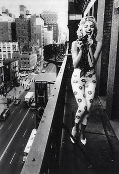 Marilyn, with camera