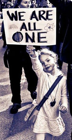 We are all one <3