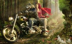 wolf and girls.............