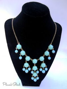 The Emily Turquoise Bubble Necklace   Designer by PlumbGlad, $10.00