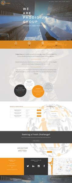 Recruitment Consultancy Website. Design and front-end by Zogz Ltd, Leicestershire.