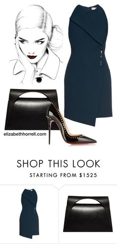 LIZ by elizabethhorrell on Polyvore featuring Balenciaga, Christian Louboutin and J.W. Anderson