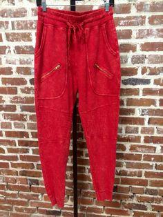 Twin Zipper Sweatpants $55.50
