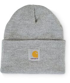 17bf1b0b79c Carhartt Watch Heather Grey Beanie. Grey VansBeanie OutfitGrey WatchBeanie  Hats For WomenBlack ...
