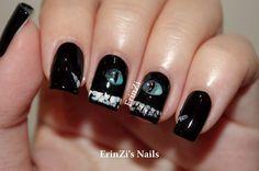 ErinZi's Nails: Cheshire Cat