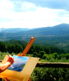 Memories from our painting holidays in Tuscany http://www.flavoursholidays.co.uk/painting-in-italy/painting-holidays-in-tuscany a place with some of the best painting vistas in Italy #paintingholidays