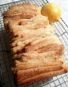 Lemon Pull-Apart Bread