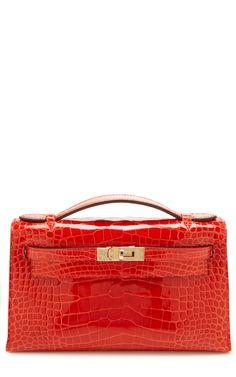 Shiny Geranium Alligator Kelly Pochette Vintage Hermes Kelly Bag, Hermes  Bags, Vintage Handbags, 6e25f200f9