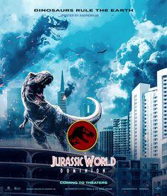 Dinosaur Fight, Dinosaur Art, Dinosaur Origami, Jurassic Movies, Jurassic Park Series, Blue Jurassic World, Jurassic World Dinosaurs, Jurassic World Wallpaper, Earth Poster