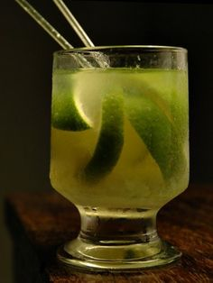 Caipirinha: National drink of Brazil. Get into it.