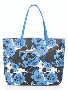 Talbots - Reversible Coated Canvas Tote | Accessories |