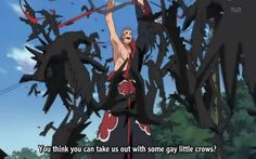 Best line in Naruto. Hands down
