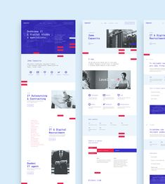 Capacita - Brand Identity - Capacita – Brand Identity on Behance - Website Layout, Web Layout, Layout Design, Ui Ux Design, Page Design, Design Tech, Webdesign Portfolio, Corporate Website Design, Tech Branding