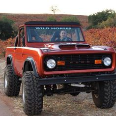 bronco--nice redo!  Great color and the hoodscoop is a nice touch