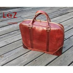 bag patterns brifecase patterns PDF BDQ-34 LZpattern design leathercraft patterns leather craft leather art leather work