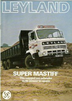 Leyland Super Mastiff tipper truck brochure