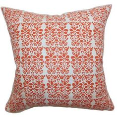 The Pillow Collection Silvia Floral Bedding Sham Size: