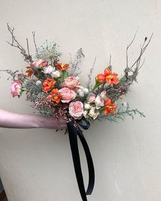 Sea Enchantress bouquet • Textural, vibrant beauty #adore_weddings Wedding Flower Inspiration, Wedding Flowers, Bouquets, Floral Wreath, Vibrant, Crown, Wreaths, Sea, Texture