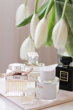 Some of my favorites...via Classy Woman #belleza #perfume #novias