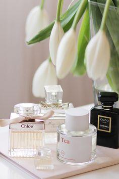 Some of my favorites...via Classy Woman #belleza #perfume #novias