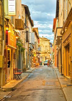 Photograph une rue dans St Remy, Provence by Fred Lord on Oh The Places You'll Go, Places To Travel, Travel Destinations, French Pictures, Monaco, Beautiful Vacation Spots, Provence France, South Of France, France Travel