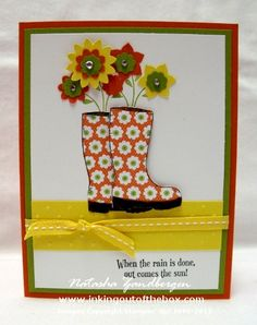 Bootiful Card by Natasha Zandbergen - Cards and Paper Crafts at Splitcoaststampers