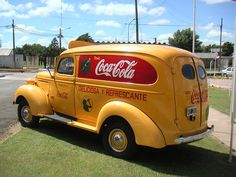 1939 Coca-Cola Delivery van that I discovered at the Reginald Lee Bottling Plant in Argentina.  If you want to see it now, go to the World of Coca-Cola.
