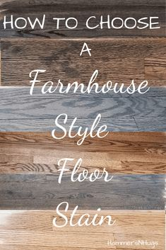 Choosing the best farmhouse style floor stain is overwhelming – not too brown, not too dark, not too gray . . . Check out this 4 step tutorial, and browse through lots of finished farmhouse style floors to find the best farmhouse style floor stain for your home! #ourthirdfixerupper #frenchcountrycottage #frenchcountry #frenchcountrydecor #hardwoodflooring #minwax #frenchcountrystyle #cottagestyle #shabbychic #farmhousestyle #fixerupper #vintage #vintagestyle  #hammersnhugs