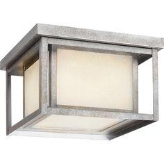 Modern Rectangles Outdoor Ceiling Light