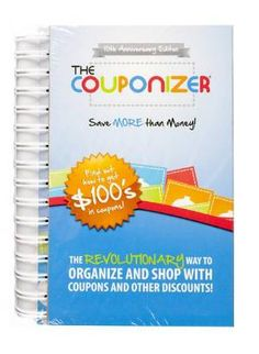 Couponizer system for saving money when shopping - this may just work to get me going and using those coupons better!