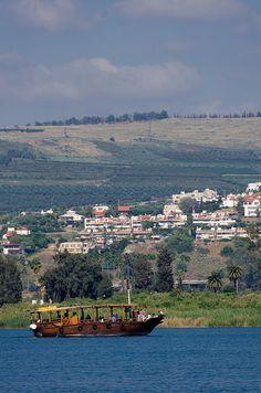 Sea of Galilee - Ginnosar, Hazafon - Isarel