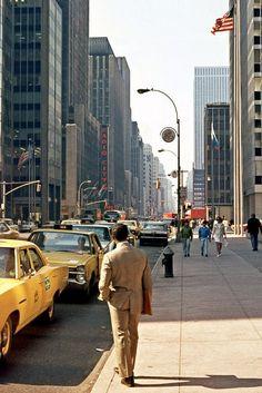 Street Scene, 6th Ave., New York City, 1971